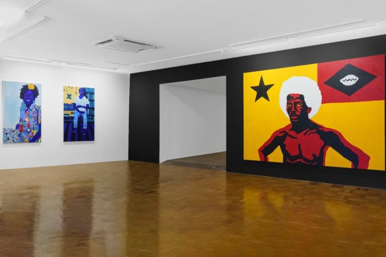 Outros ensaios para o tempo, vista da exposição, Nara Roesler São Paulo, 2021. Foto: Flávio Freire.