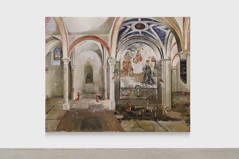 André Griffo O fim condizente com o começo 3, 2021 tinta óleo sobre tela 177 x 223 cm