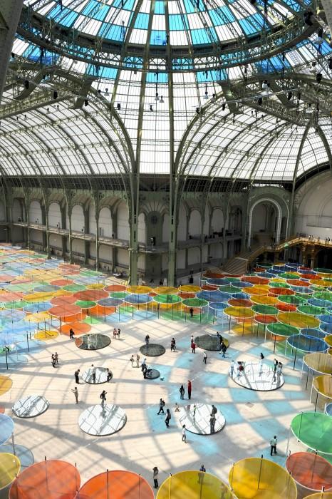 Photo-souvenir : Excentrique(s), travail in situ, Monumenta 2012, Grand Palais, Paris, mai 2012. Détail. © DB- ADAGP Paris