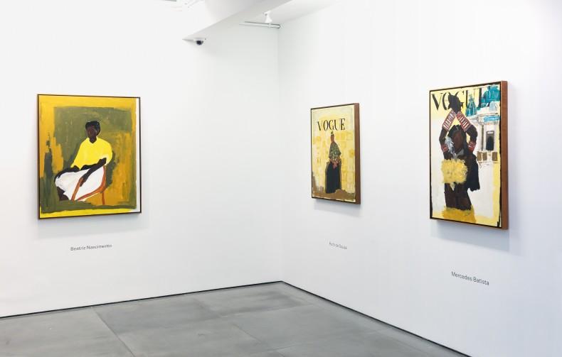 Antes – agora – o que há de vir, 2021, Nara Roesler Rio de Janeiro – vista da exposição. Foto:...