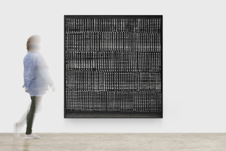 Heinz Mack Sem título, 1959 resina sintética sobre tela 163,5 x 158 x 6,5 cm