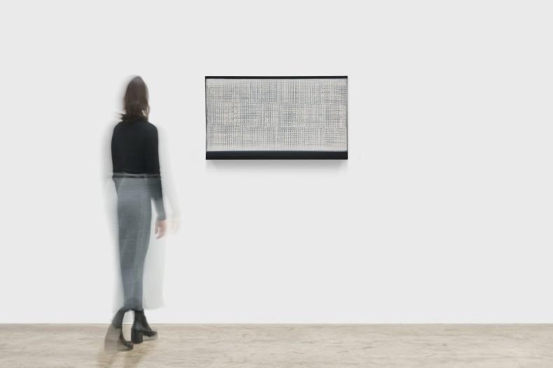 Heinz Mack Sem título, 1959/1960 resina sintética sobre tela 70 x 105,5 x 6,5 cm