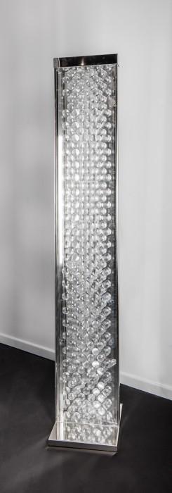 Heinz Mack Light-Rain, 2002 aço inox e acrílico 205 x 35 x 9 cm | Suporte: 3 x 36 x...