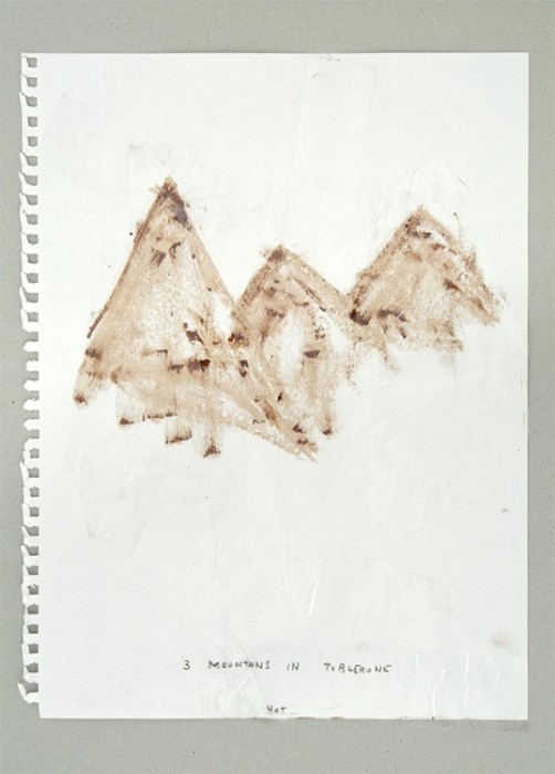 3 mountains in toblerone, 2005