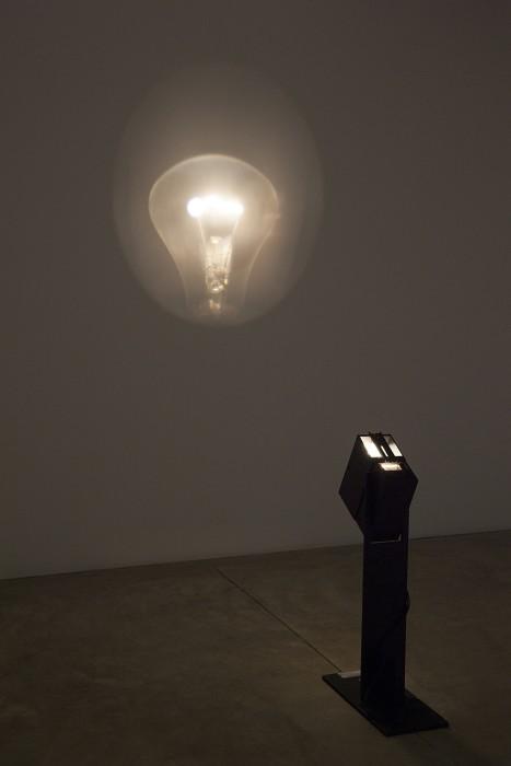 julio le parc, lampe pulsante projetée, 1966