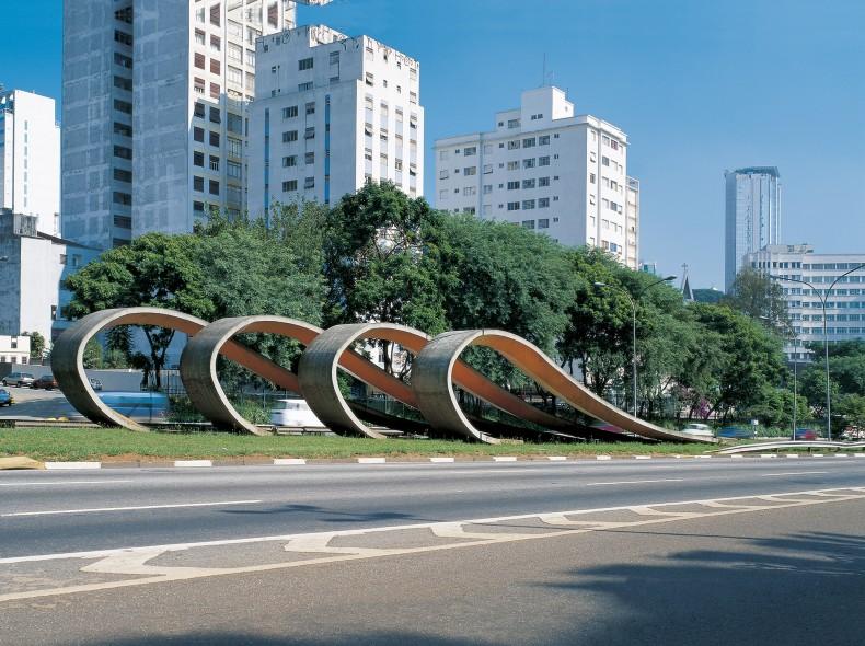 monumento à imigração japonesa, 1988