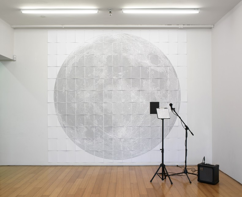 paper moon (i create as i speak), 2009