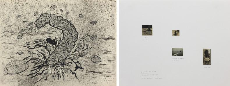 o bueiro (o monstro da lagoa), da série desenhos raivosos / aparições ocasionais (o monstro da lagoa), 1976-2013