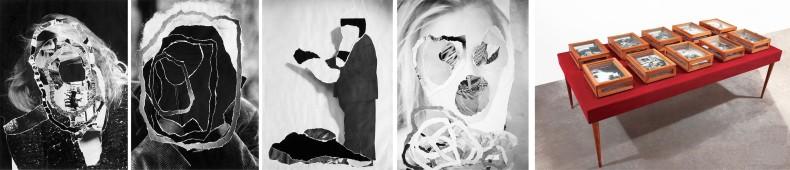 caixas de retratos (mesa), 2008 / 2009