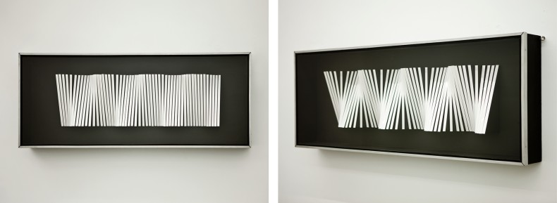 curves a partir de droites, 1960 / 1971