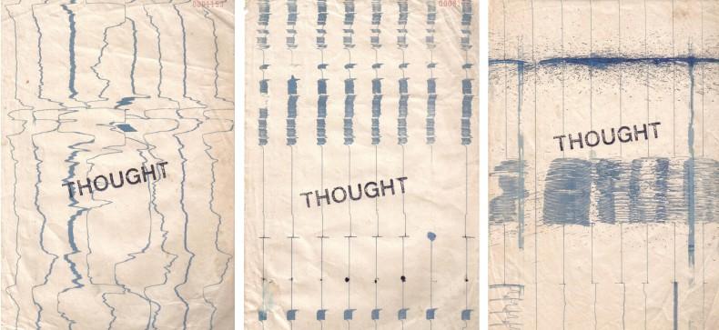 eeg art, da série meu cérebro desenha assim, 1976