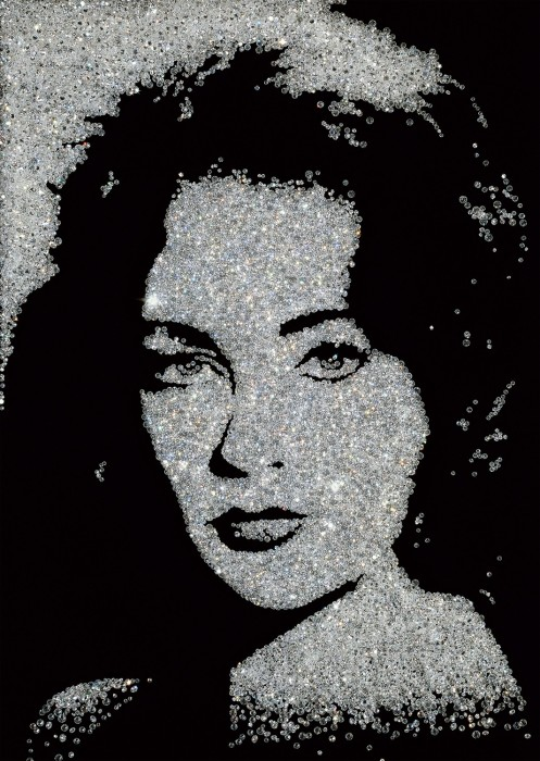 pictures of diamonds: elizabeth taylor, 2004
