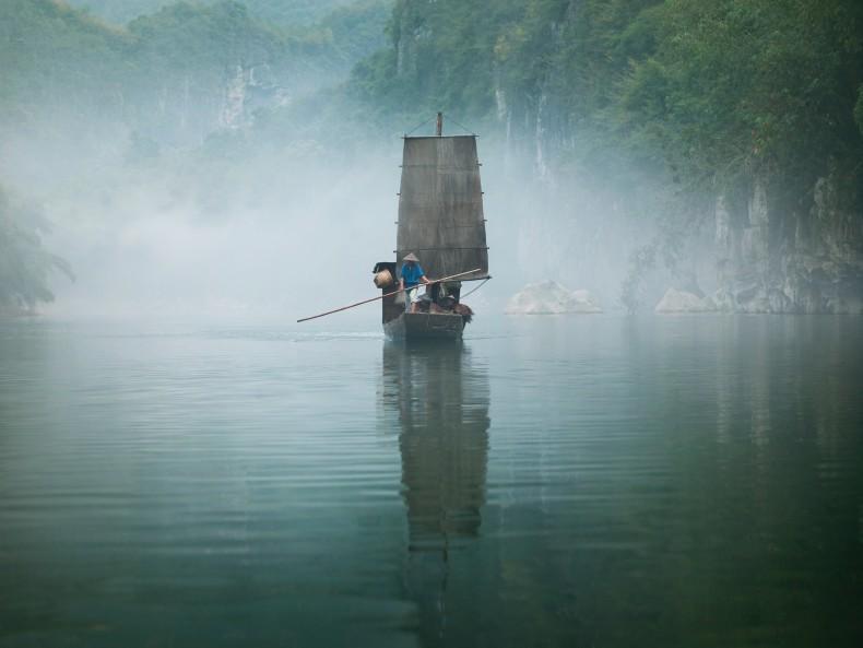 yishan island, mist (ten thousand waves), 2010