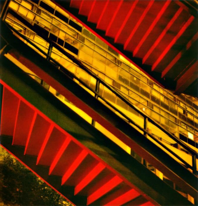 Viaduto Santa Ifigênia #3, da série Noturnos São Paulo, 2002