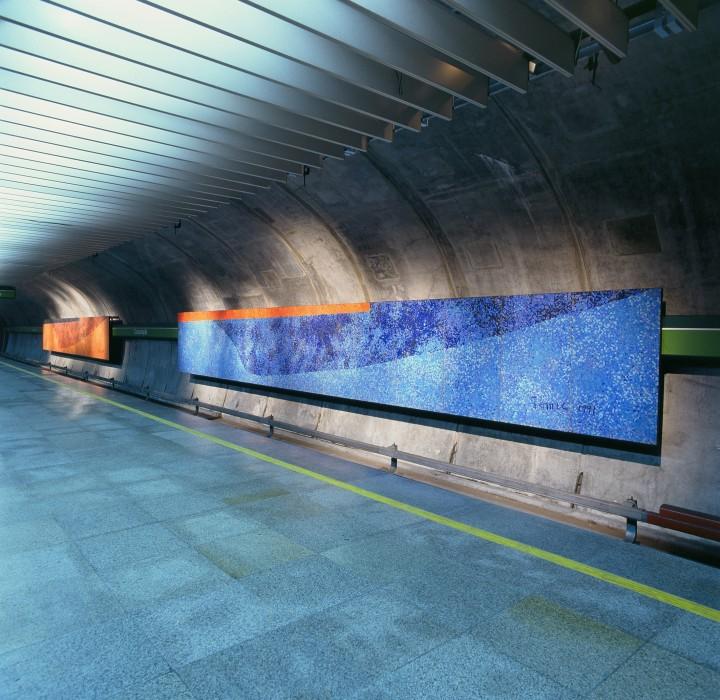 Estação Consolação de Metrô, 1991