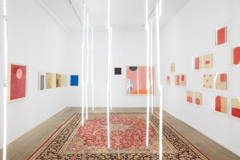 carlito carvalhosa vista da exposição Carlito Carvalhosa – I Want to Be Like You Nara Roesler | New York, 2019...