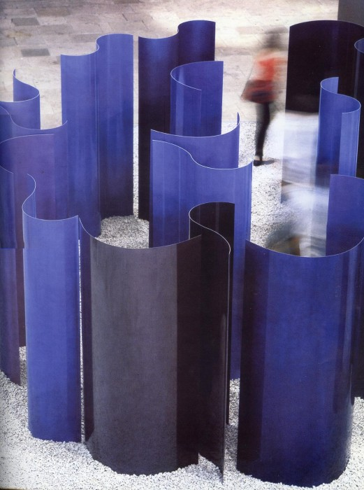 Labirinto de azul, 1993