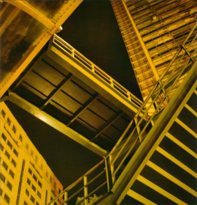 Viaduto Santa Ifigênia #1, da série Noturnos São Paulo, 2002