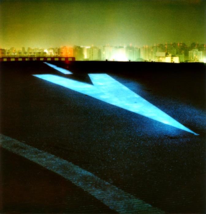 Aeroporto de Congonhas #1, da série Noturnos São Paulo, 2002