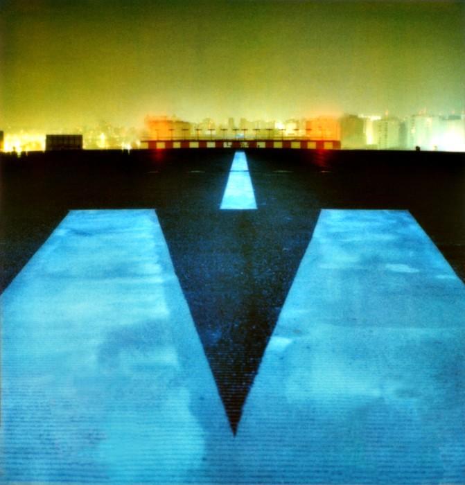 Aeroporto de Congonhas #3, da série Noturnos São Paulo, 2002