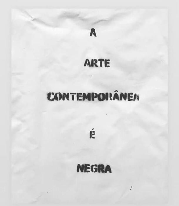 Arte contemporânea é negra, 2016