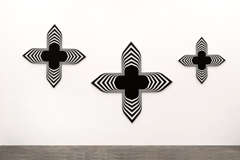 Black Paintings (triptych) , 2008