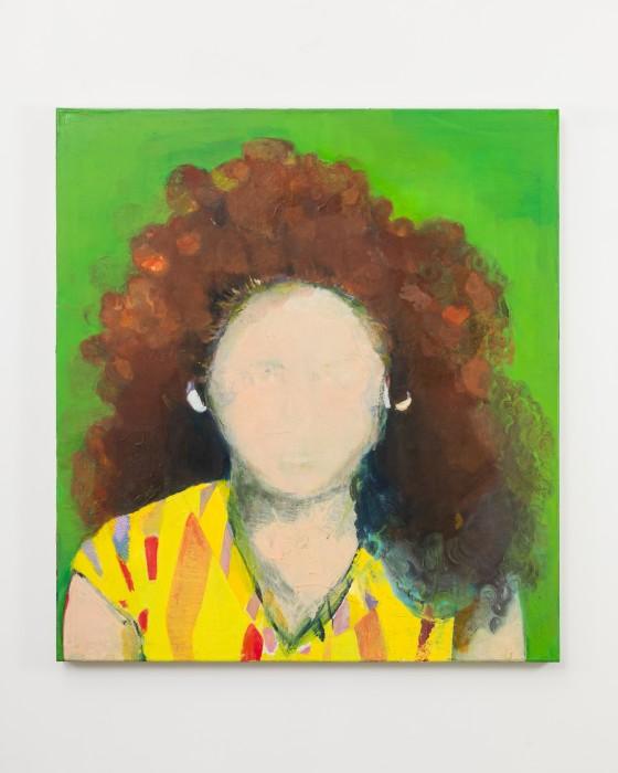 Cristina Canale Victorine, 2020 tinta óleo sobre tela / oil paint on canvas 110 x 100 cm / 43.3 x...