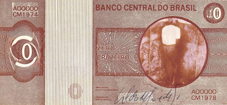 cildo meireles, zero cruzeiro, 1974/1978