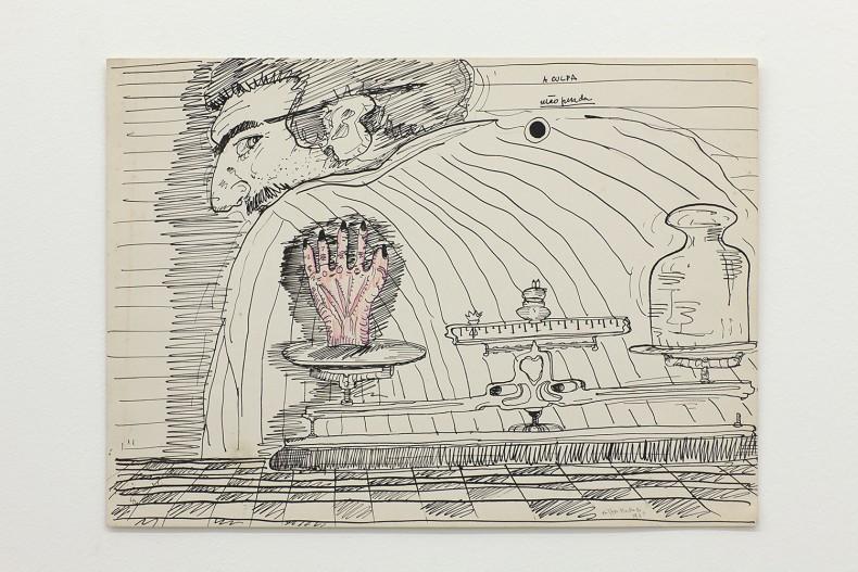 milton machado, a culpa (mão pesada) da série vira-latas, déc. 1970