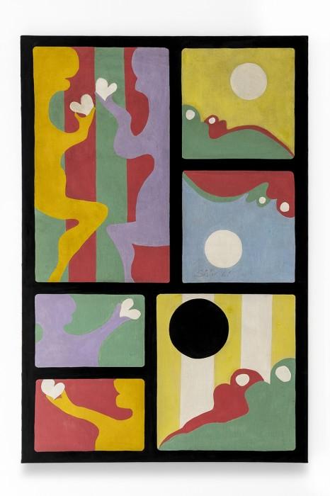Sérgio Sister Sem título, 1967 acrílica sobre tela 146 x 114 cm