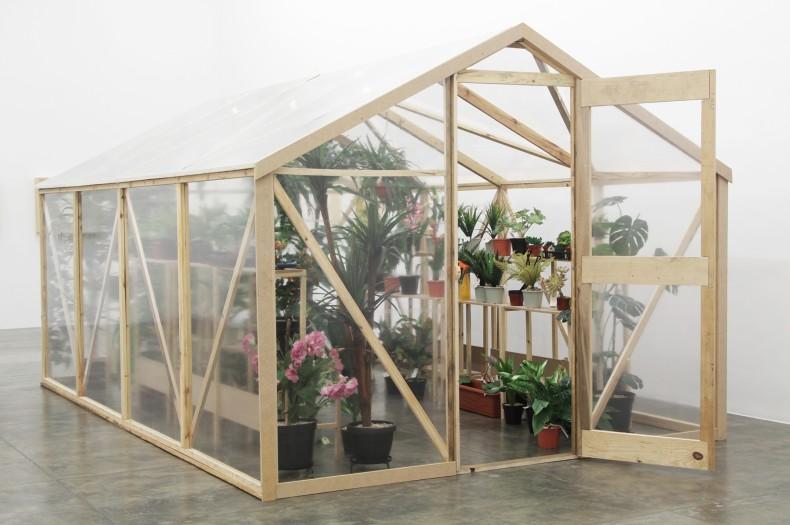 alberto baraya, green house, 2013