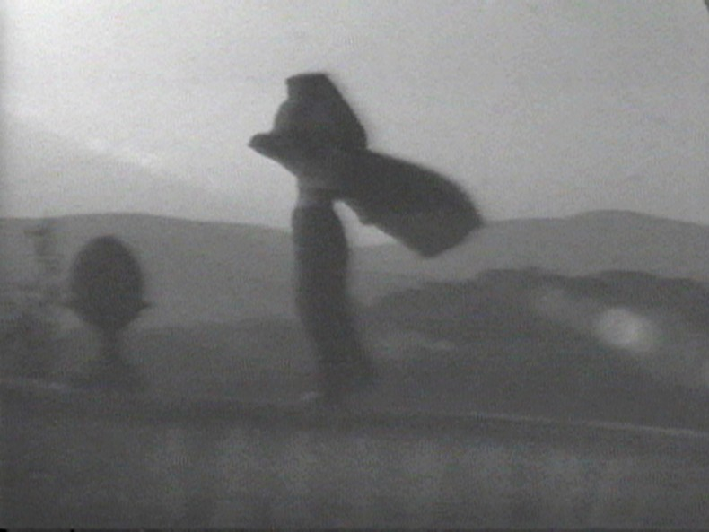 joan jonas, merlo, 1974