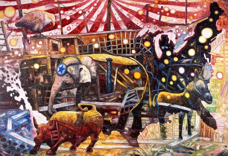 oscar oiwa, big circus, 2011