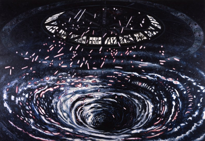 oscar oiwa, swirl, 2012