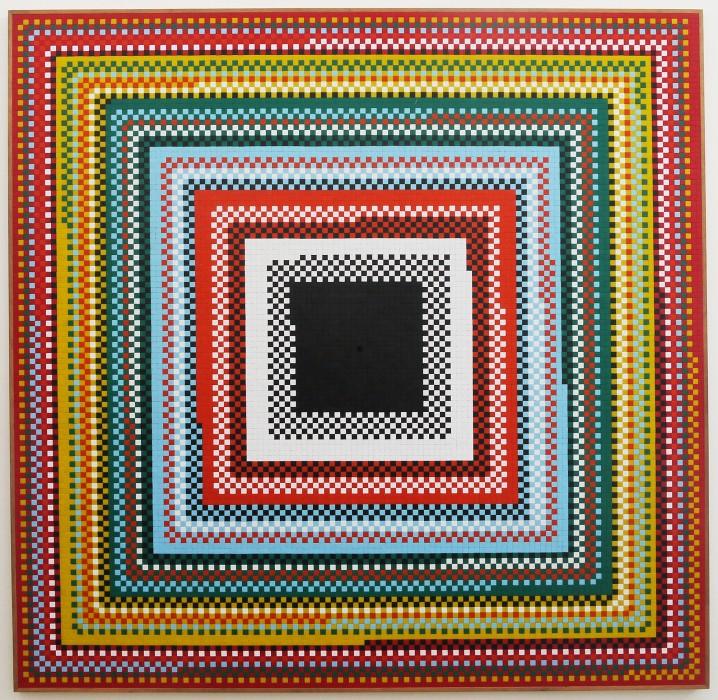 josé patrício, 15.624 peças – progressão cromática crescente, 2011