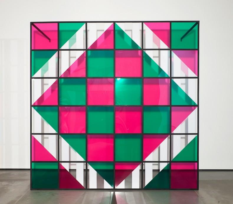 daniel buren, cores, luz, projeção, sombras, transparência: obras in situ 3, 2015