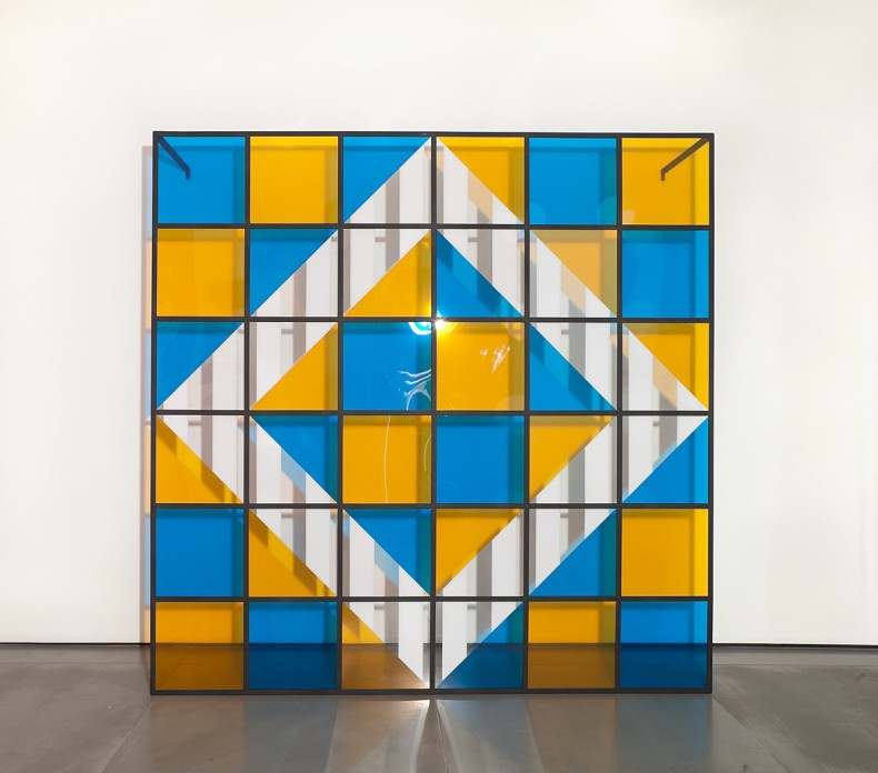 daniel buren, cores, luz, projeção, sombras, transparência: obras in situ 2, 2015