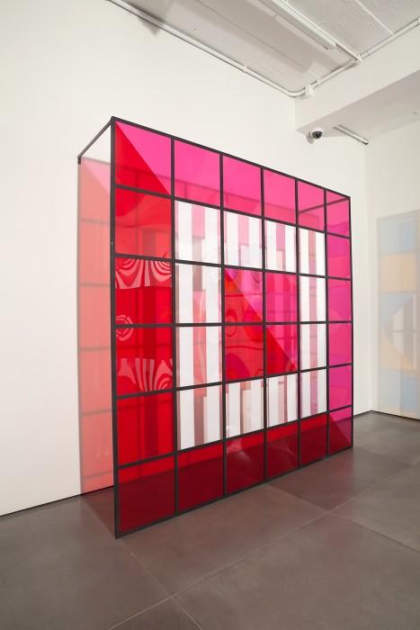 daniel buren, cores, luz, projeção, sombras, transparência: obras in situ 1, 2015