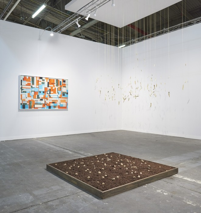 Galeria Nara Roesler, The Armory Show, 2019 -- installation view -- photo © Edward Daniel -- courtesy of the artist...
