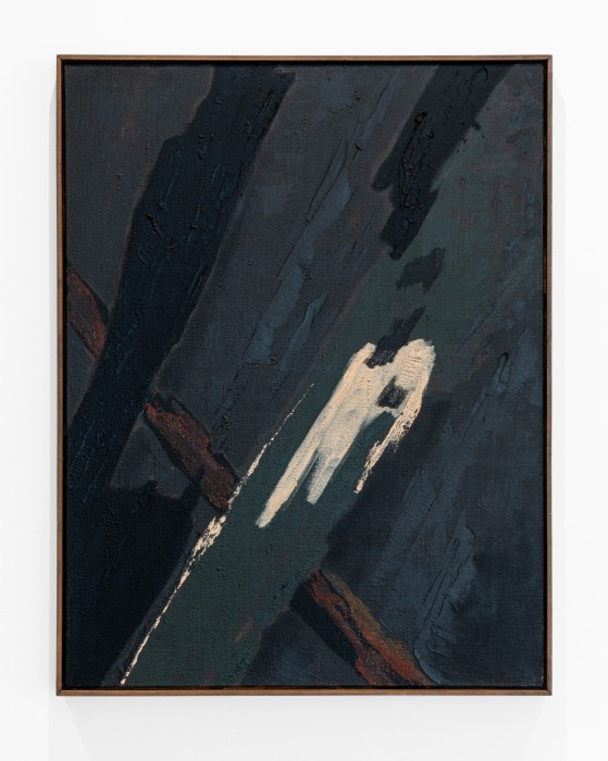 Tomie Ohtake Untitled, 1957 oil paint on canvas 54 x 50 cm/25.6 x 19.7 in