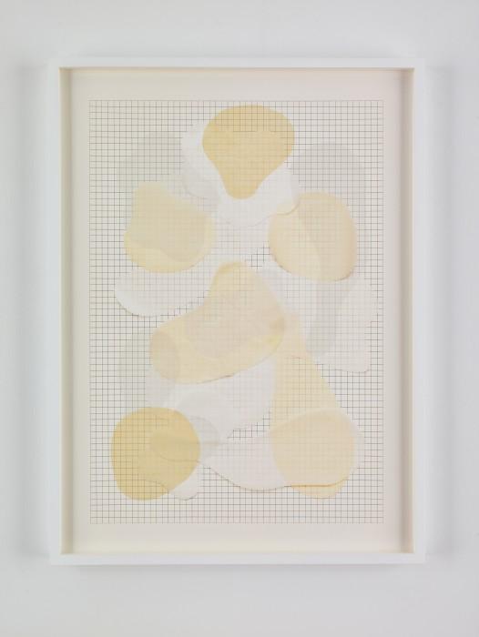 Vik Muniz Handmade: Graph ghosts, 2016 mixed media on archival inkjet print 76,2 x 55,8 cm / 30 x 22...