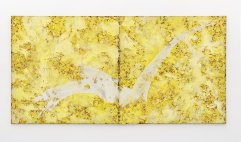 Tomie Ohtake Untitled, 1994 acrylic paint on canvas 200 x 400 cm / 78.7 x 157.5 in