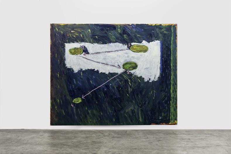 Bruno Dunley Sem título / Untitled, 2019 tinta óleo sobre tela / oil paint on canvas 200 x 250 cm...