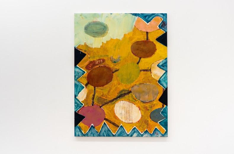 Bruno Dunley Sem título / Untitled, 2019 tinta óleo sobre tela / oil paint on canvas 160 x 130 cm...