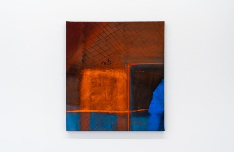 Karin Lambrecht Com Sol, 2015 pigmentos em meio acrílico e pastel seco sobre lona pigments in acrylic medium and dry...