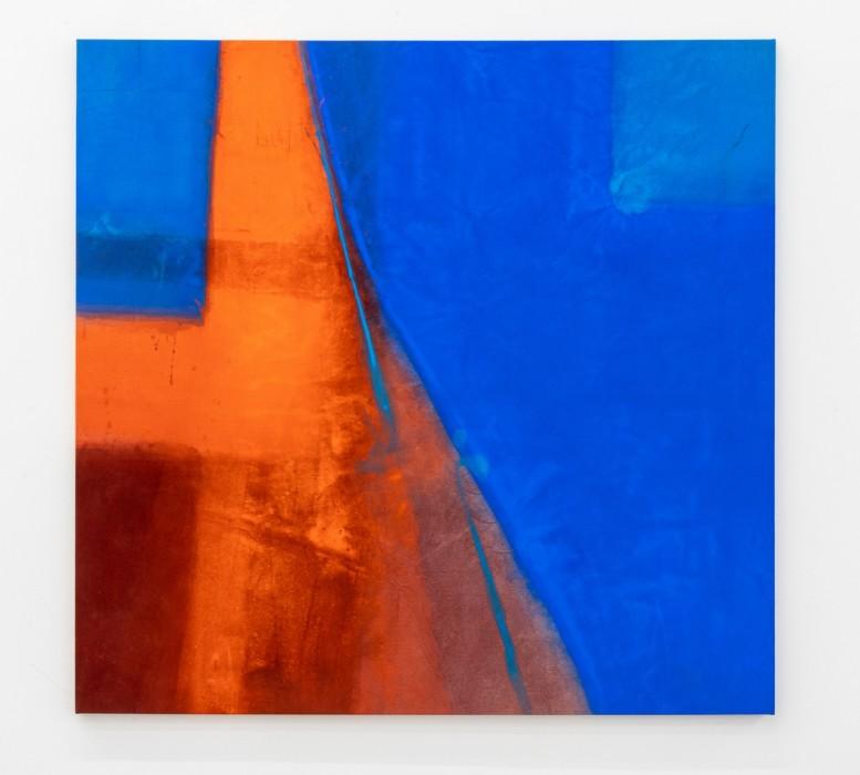 Karin Lambrecht Men and Woman, 2018 pigmentos em meio acrílico e carvão vegetal sobre lona pigments in acrylic medium and...