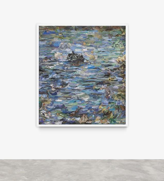 Vik Muniz Repro: Musee d'Orsay (Rochefort's Escape, after Manet), 2016 c-print digital / digital c-print 204 x 180.3 cm /...