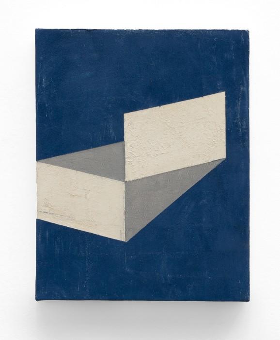 Fabio Miguez Sem título/Untitled, 2017 tinta óleo e cera sobre tela oil paint and wax on canvas 30 x 24 cm