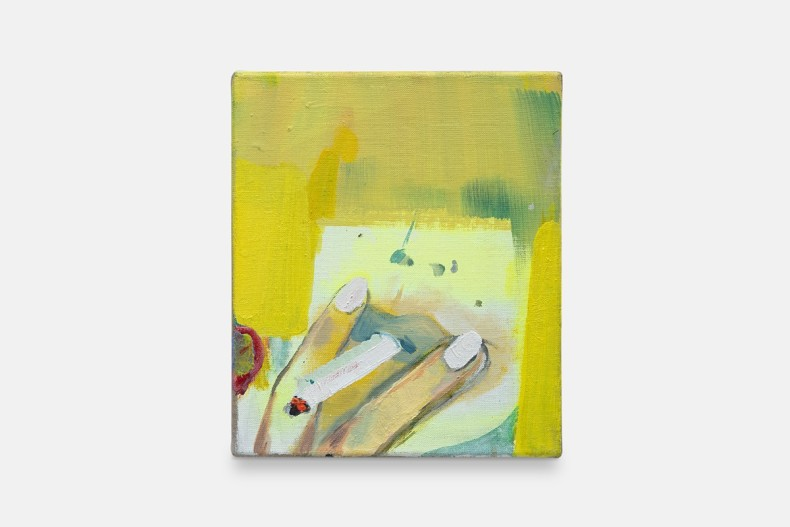 Cristina Canale Franja, 2018 técnica mista sobre tela mixed media on canvas 35 x 30 x 2 cm/13.8 x 11.8 x 0.8 in