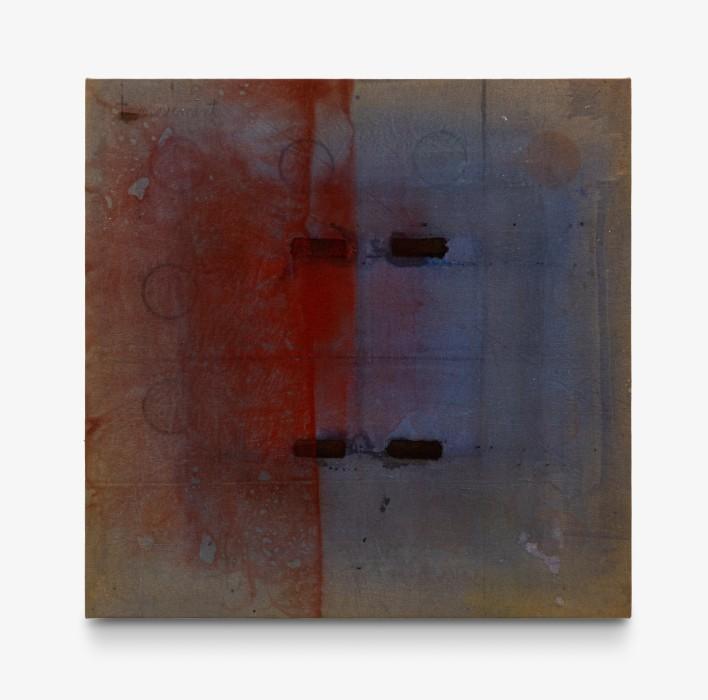 Karin Lambrecht Sem título/Untitled, 1993 pigmentos em meio acrílico sobre tela pigments in acrylic medium on canvas 158 x 161 cm 62.2 x 63.4 in